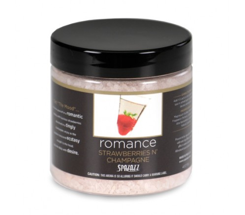 "Esencia para spa jacuzzi ""Spazazz Set the Mood"" Strawberries champagne Romance"