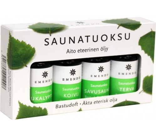 Esencias para sauna Emendo 4 uds x10 ml