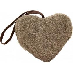 Corazón esponja exfoliante de sauna Emendo