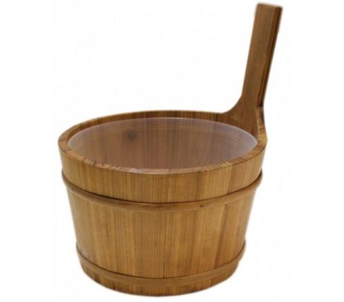 Cubo de Madera Emendo para sauna 4 L