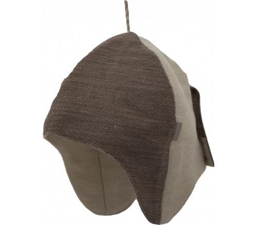Gorro con orejeras para sauna Emendo