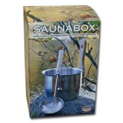 Cubo y Cazo de acero inoxidable Saunia