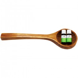 Cazo de Madera Emendo + 2 esencias 10 ml. para sauna
