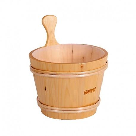 Cubo de madera Harvia de 4 litros