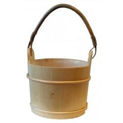 Cubo de madera Saunia 6 litros