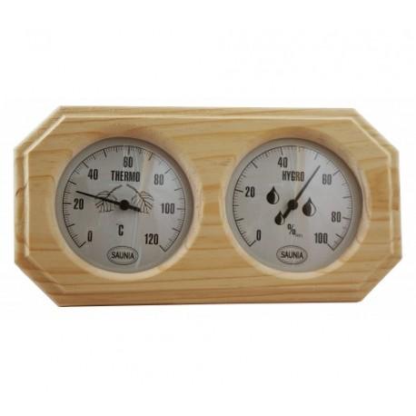 Termómetro Higrómetro para sauna Saunia