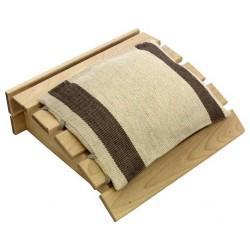 Reposacabezas de madera + Cojín Emendo
