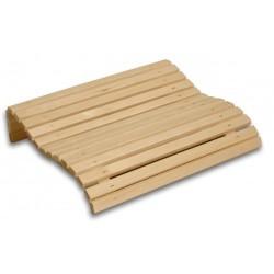 Reposacabezas de madera Saunia