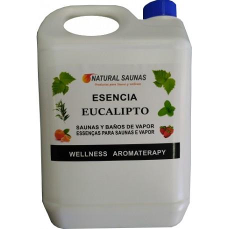 Esencia eucalipto para saunas y baños de vapor