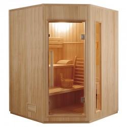 Sauna de vapor ZEN 3 plaza  kit fácil montaje