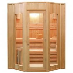Sauna de vapor ZEN 4 plaza  kit fácil montaje