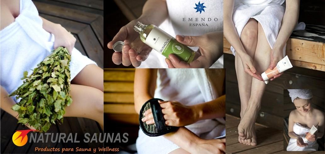 cuidados del cuerpo en la sauna